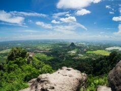 Panorama Bogor dari puncak Gunung Munara
