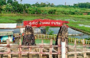 area pemandian air panas gunung Peyek Bogor
