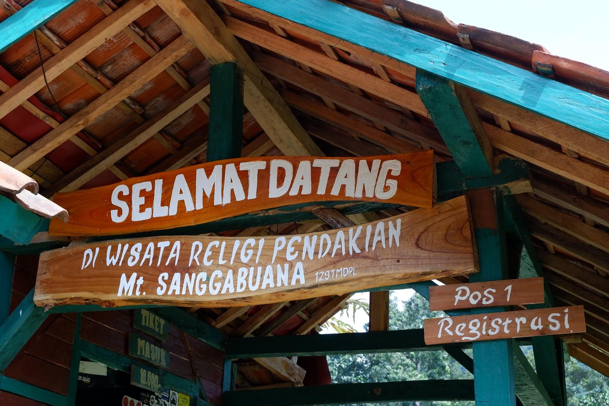 Pos 1 Gunung Sanggabuana