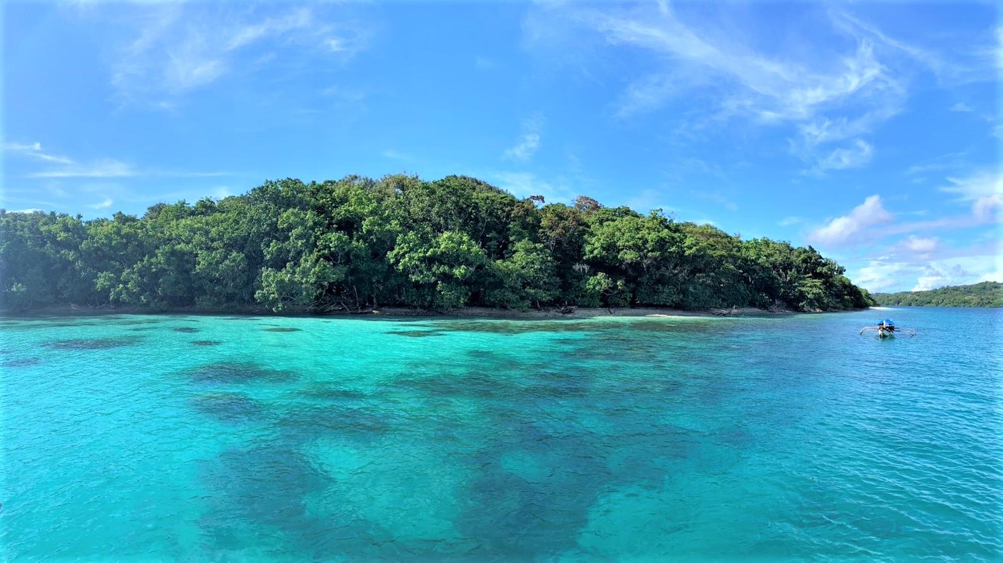 Panorama Pulau Peucang