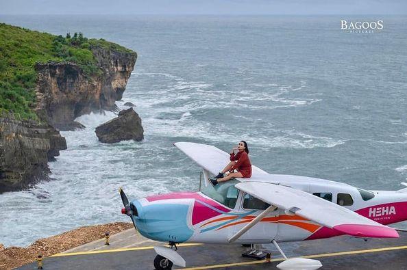Spot Foto Pesawat Heha Ocean View