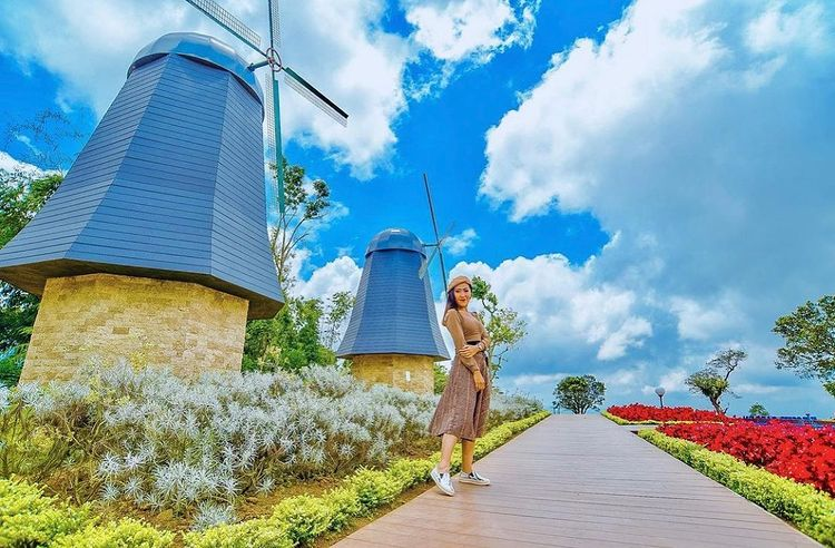 Taman Bunga Belanda di Tabanan Bali