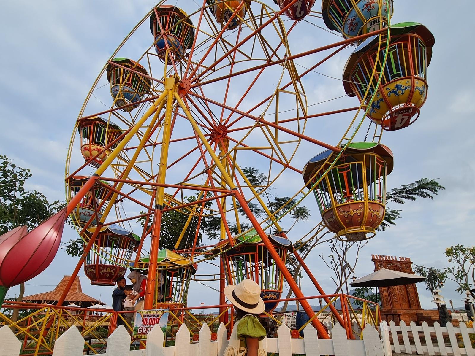 Nangkula Park Sudah dilengkapi wahana permainan