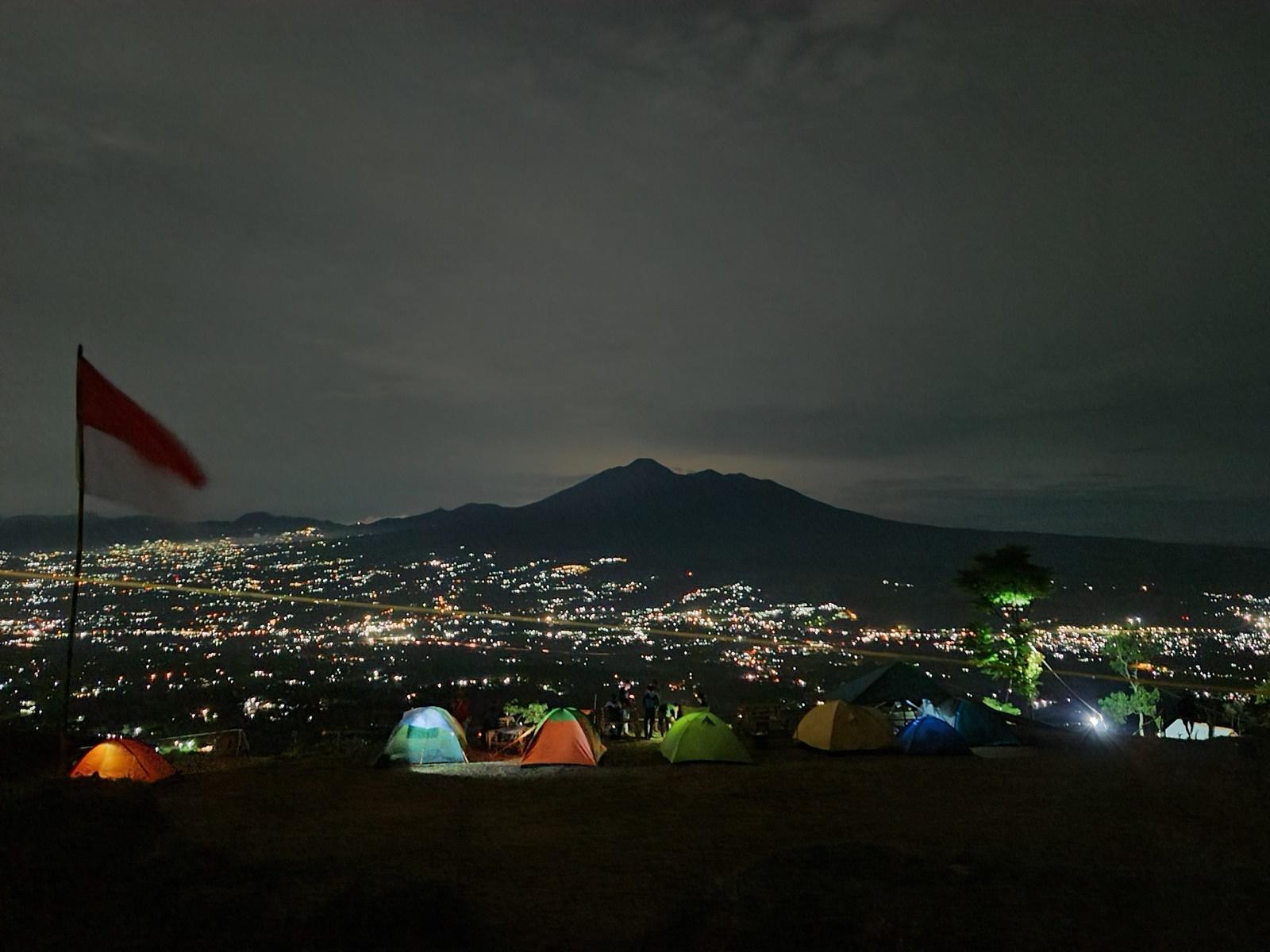 City lights di malam hari